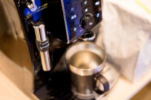 事務所の全自動コーヒーマシン