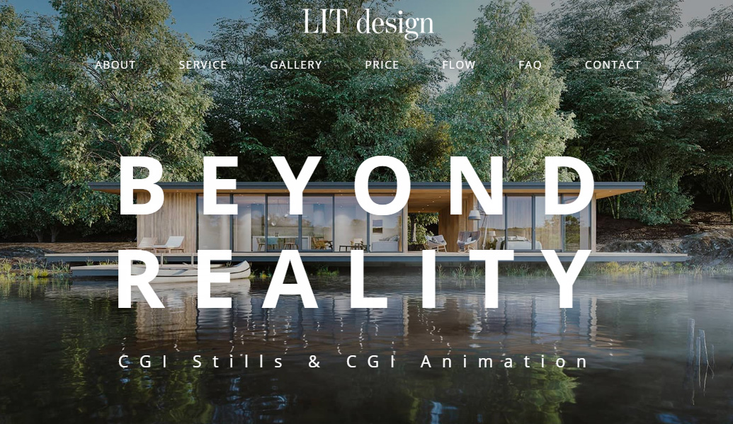 LITdesignのwebページをリニューアル
